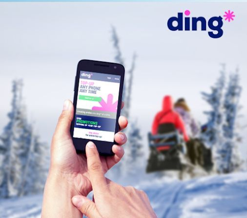 Wherever in the world you are, ding* will be with you www.ding.com