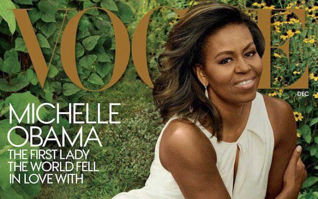 'It's time ... eight years is enough': Michelle Obama reflects on time in White House as she appears on Vogue for third time