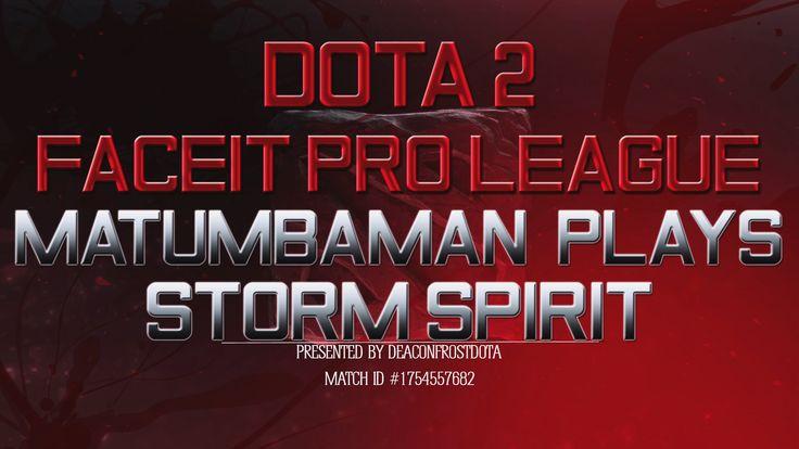 Dota 2 FPL MATUMBAMAN Plays Storm Spirit [1754557682]