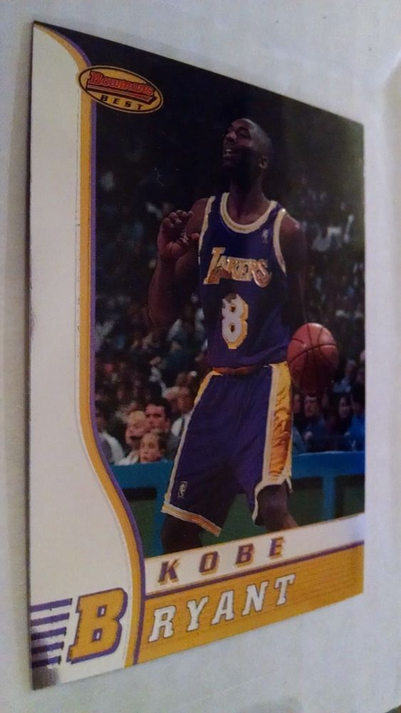 1996-97 BOWMAN'S BEST #R23 KOBE BRYANT ROOKIE CARD #LosAngelesLakers