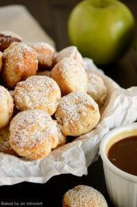 Baked Apple Fritters | Baked by an Introvert