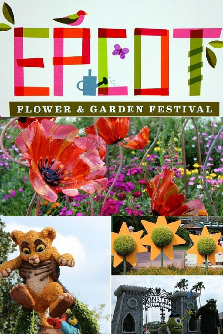 Savoring The Epcot Flower And Garden Festival