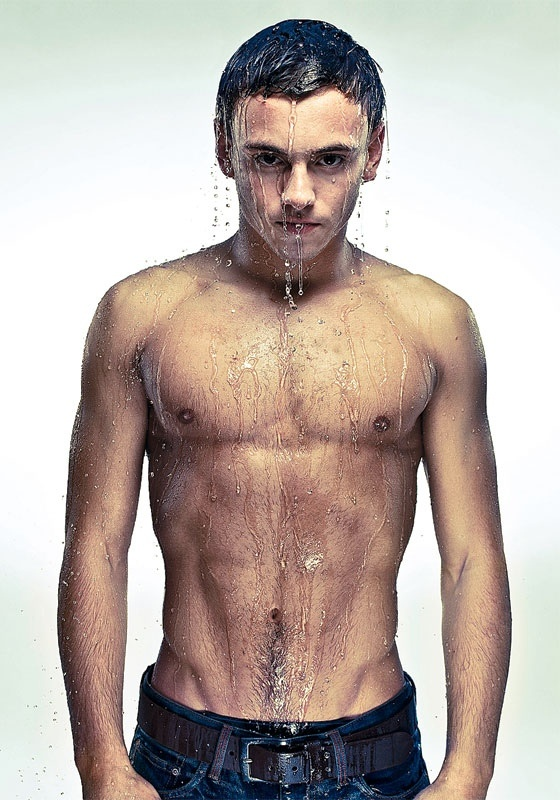 Tom Daley..british diver