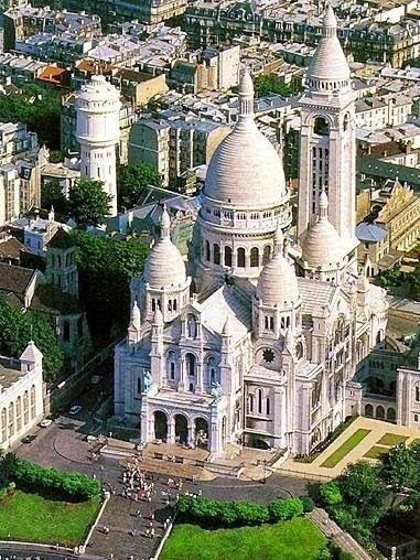 Franciaország: Sacré Coeur (Szent Szív-templom) Sacre Coeur, Montmartre, Paris, France  #PadreMedium