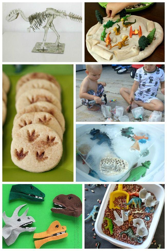 50 Dinosaur Crafts & Activities