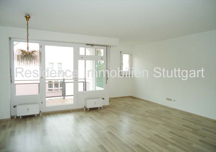 Mietwohnungen Stuttgart Mitte: Moderne 2-Zimmer-Wohnung mit Balkon und TG-Stpl…