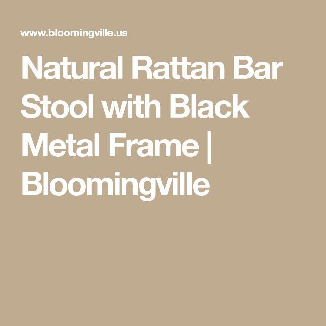 Best 25 Rattan Bar Stools Ideas On Pinterest Black