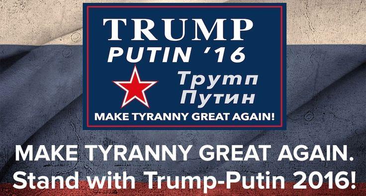 'Make tyranny great again!': Ohio Gov. Kasich trolls Trump with hilarious Trump/Putin 2016 parody website