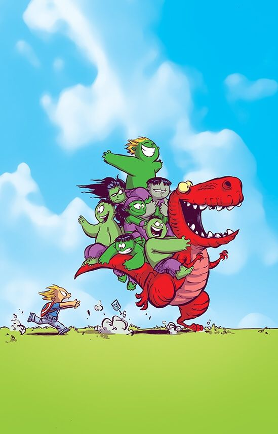 Artist Skottie Young - The Avengers and Marvel