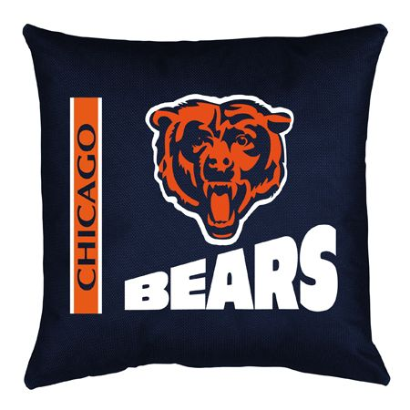 Chicago Bears NFL Locker Room Collection Toss Pillow