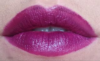 RC Make-Up: (Mac Rebel Dupe!) Rimmel Moisture Renew Lipstick in Dark Knight Water-oops