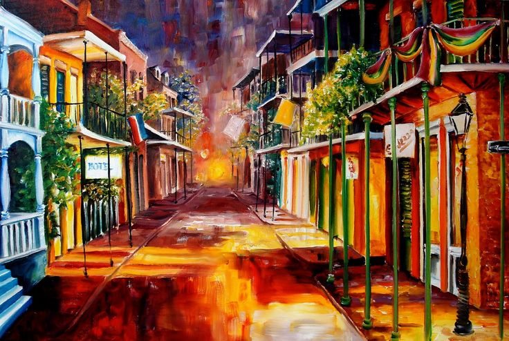 i've been to new orleans . artwork by diane millsap
