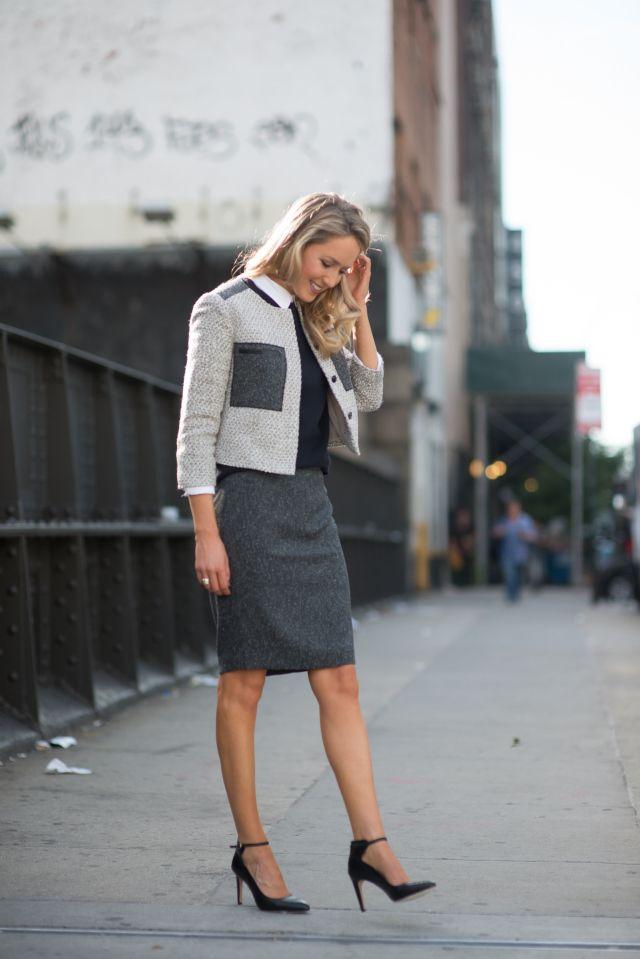 The Classy Cubicle: Tweed on Tweed