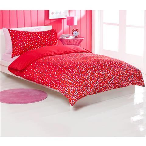 single bed confetti quilt cover set kmart australia