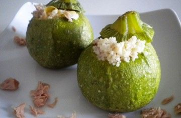 Zucchine ripiene di cous cous - Chef ASDOMAR