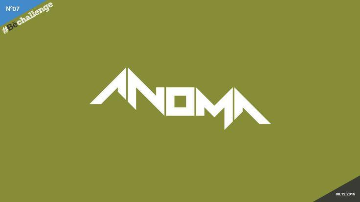 #Bechallenge | No.07 | ANOMA on Behance