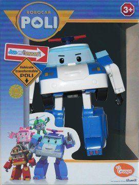 """Трансформер """"Полицейская машина Поли"""" - Robocar Poli — фото N4"""