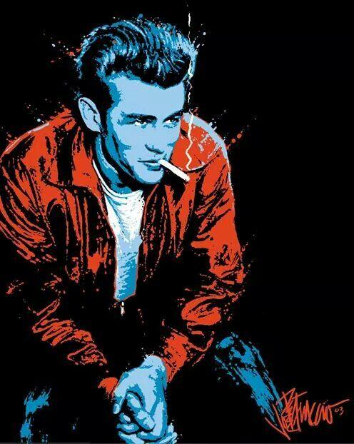 James Dean by artist Joe Petruccio.
