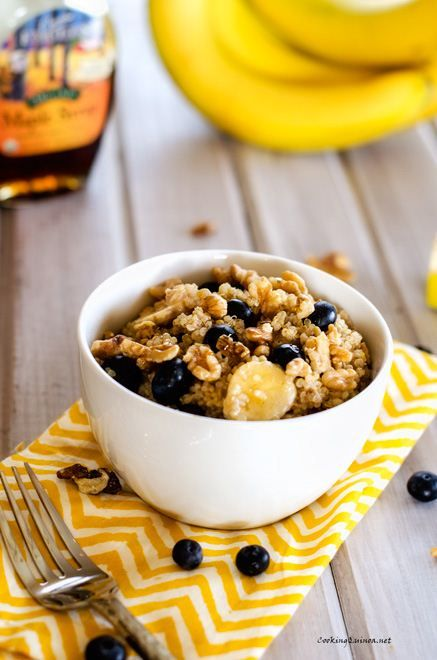 quinoa with blueberries walnuts bananas quinoa with blueberries ...