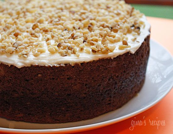 Super Moist Carrot Cake with Cream Cheese Frosting – perfect for #Easter or anytime of the year. #dessert #weightwatchers