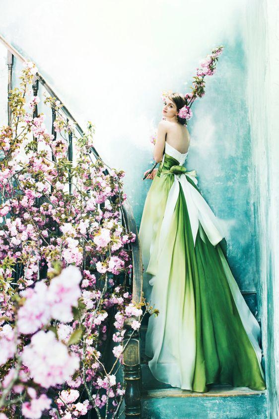 Novarese カラードレス|エメラルド