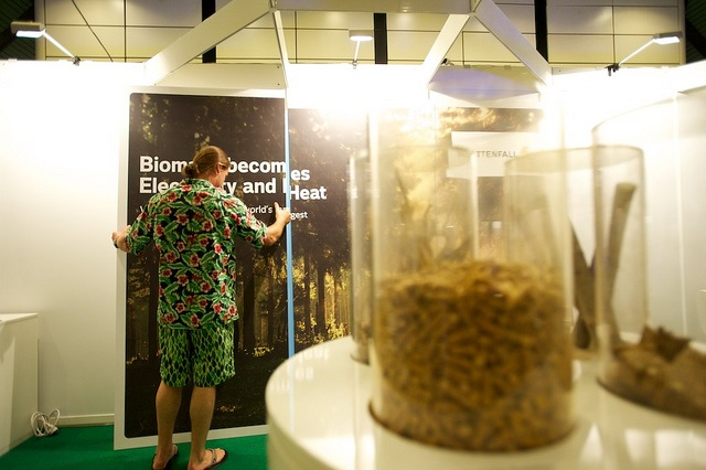 Pellets at the 19th European Biomass Conference and Exhibition #biomass #biofuels #bioenergy #pellets