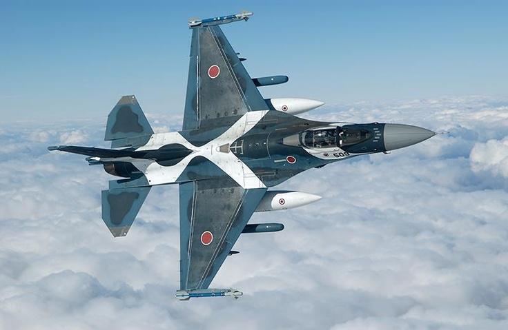 JASDF F-2. Photo by Katsuhiko Tokunaga