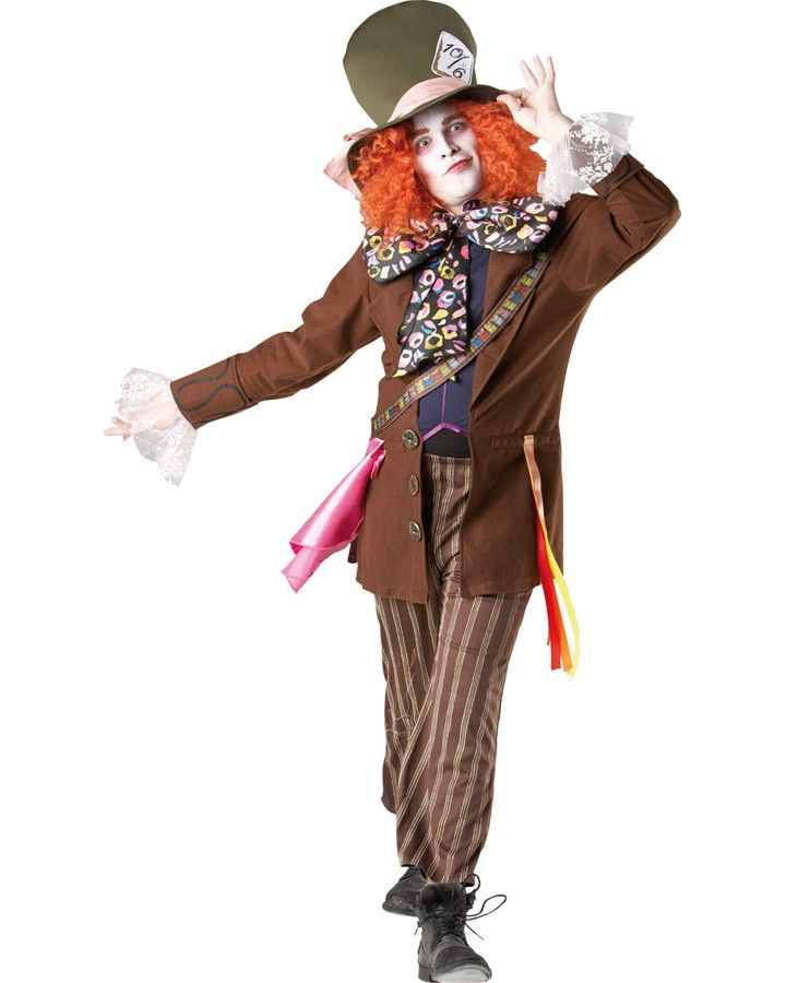 Mad Hatter Mens Costume
