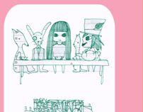 The 30 Doodle Project: August by Grigoria Vryttia, via Behance