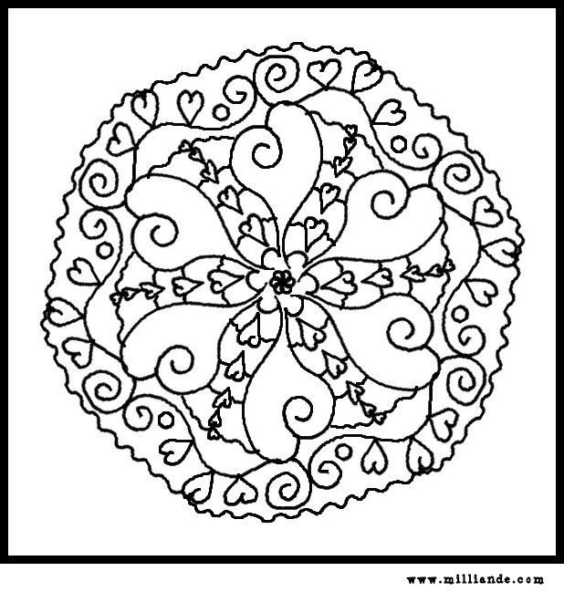 49 best Mandala coloring pages images on Pinterest Coloring books - new elephant mandala coloring pages easy