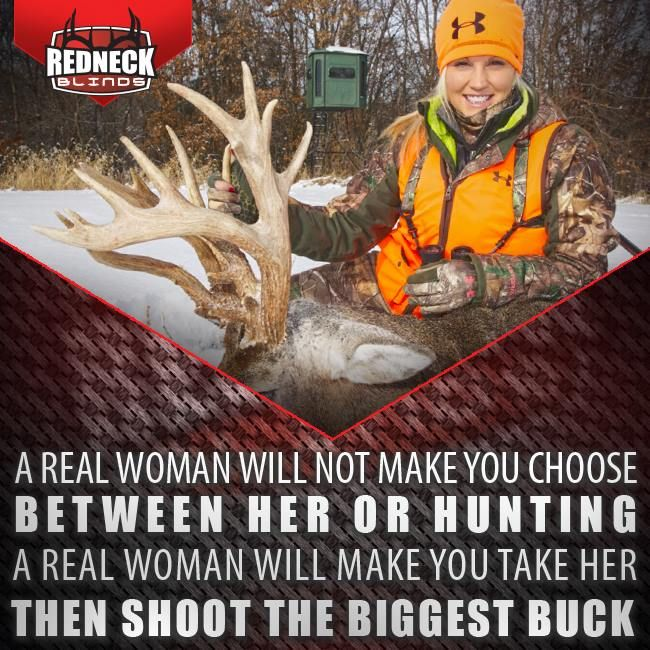 That's me, alright! Thanks Redneck Hunting Blinds!