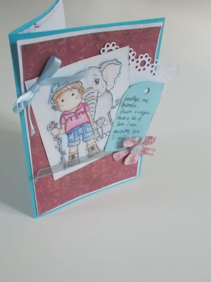 Amiche di Scrap: sfida Card #12 - Luisa