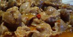 Receta: Mollejas de pollo #JerezSinFronteras
