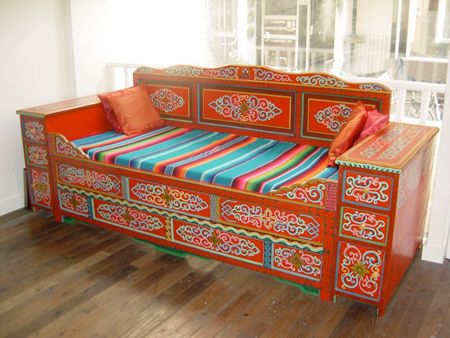Mongolian couch