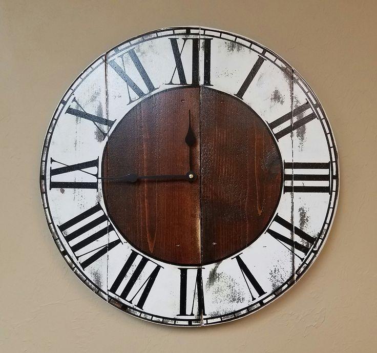 1000 ideas about Farmhouse Wall Clocks on Pinterest