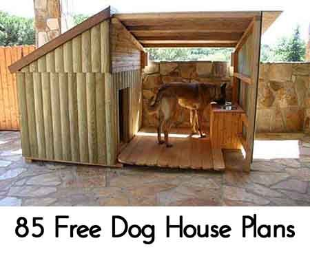 85 Free Dog House Plans - Lil Moo Creations