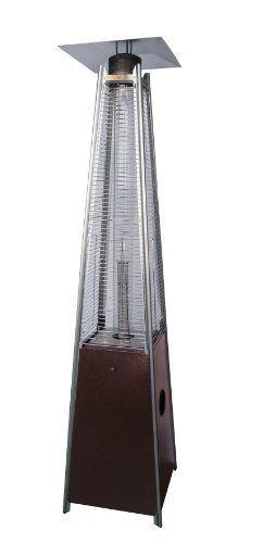 az patio heaters hldsowgthg quartz glass tube patio heater hammered bronze hiland quartz glass tube patio heater hammered bronze finish wheels for easy - Az Patio Heaters