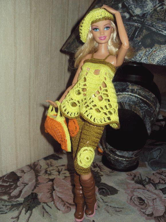 Knitting dla przegubowych lalki Barbie / Barbie, lalek Barbie - i kolekcjonerskich gier / Beybiki. Lalki Zdjęcie. Odzież dla lalek