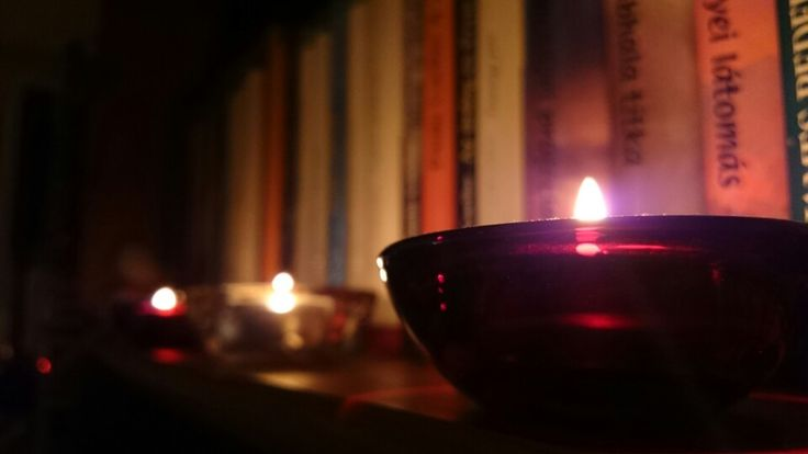 Photography candle