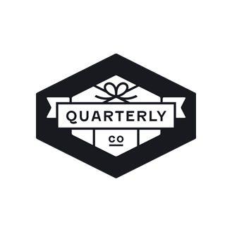 Logo developed by Oak for Quarterly Co.