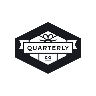 Logo developed by Oak for Quarterly Co.