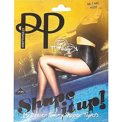 Nude Pretty Polly tummy shaper tights
