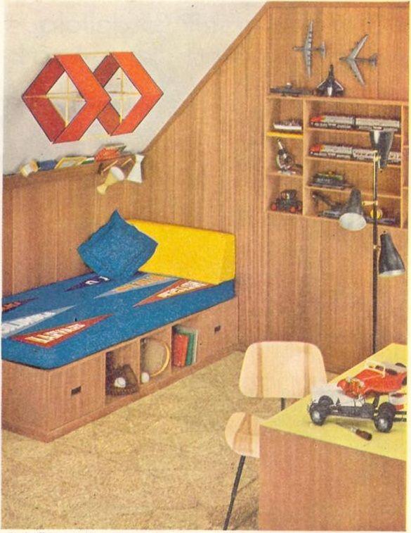 1955. 24 best Children s Bedroom images on Pinterest   Mid century