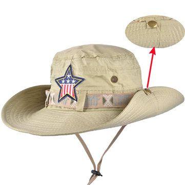 Mens Outdoor Fishing Camping Bucket Hats Women Ladies Wide Brim Sun Caps