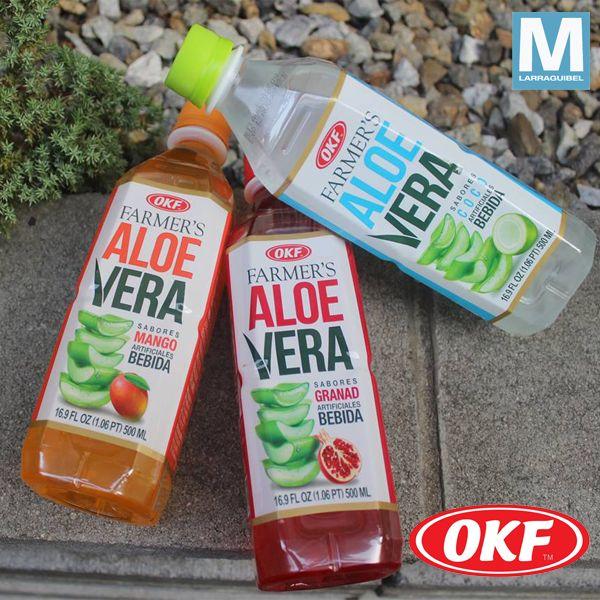 Bebida de Aloe Vera marca Nº 1 del mundo  Aloe Vera Okf Libre de Sellos