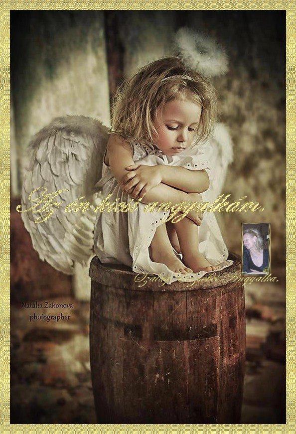 Az én kicsi Angyalkám.
