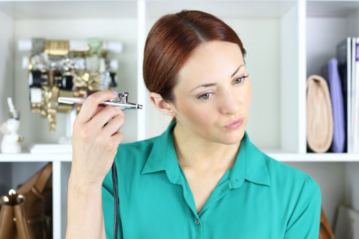 airbrush machine for makeup mac
