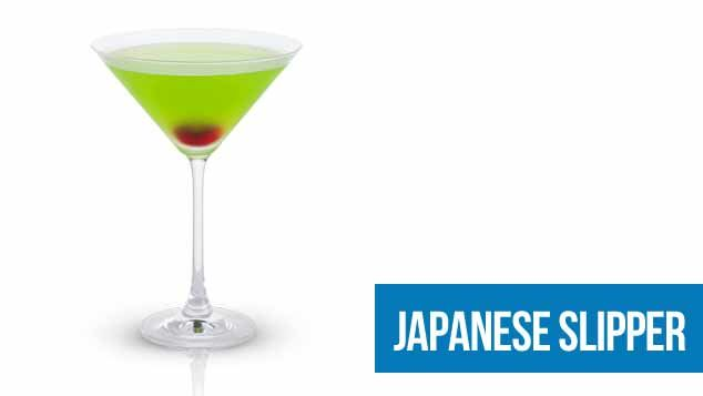 Australia Day - Japanese Slipper Cocktail / Drink Recipe