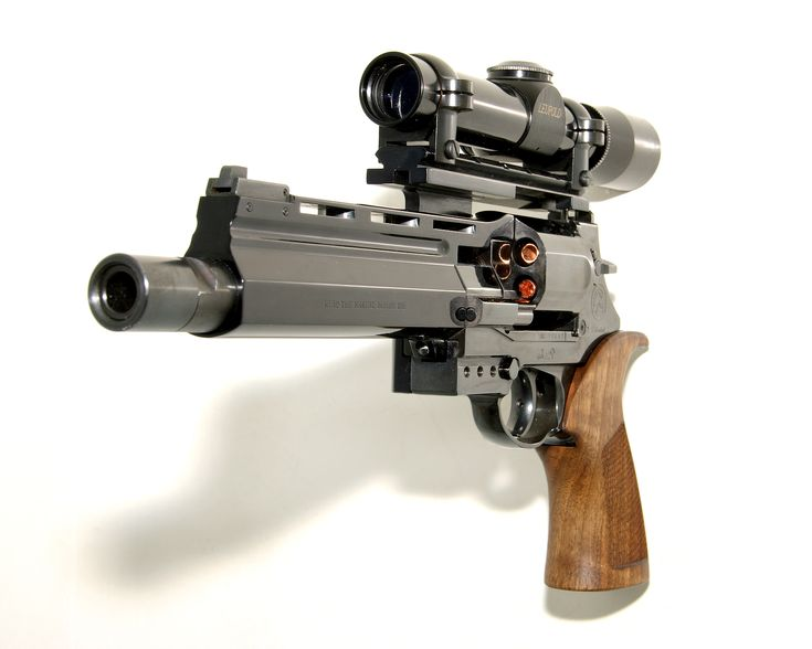 The Mateba Unica 6. Leupold M8-2X EER