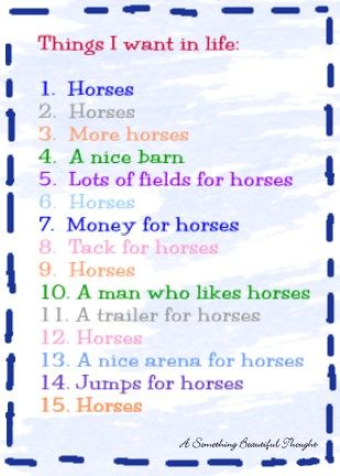 100 things i want in a man checklist